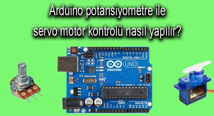 Bu yazımızda arduino ile potansiyometre kullanarak servo motor kontrolü için gerekli bağlantı şemasını ve arduino kodlarını inceleyeceğiz. Merhaba sevgili kodlakafa.com takipçileri. Bu yazımızda arduino ile potansiyometreden okunan değeri servo motora aktararak potansiyometre ile servo motor kontro