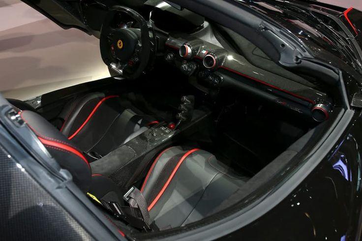 A peek inside the latest Ferrari