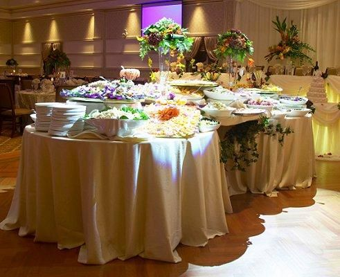 1000 ideas about wedding food tables on pinterest food - Food decoration for wedding ...