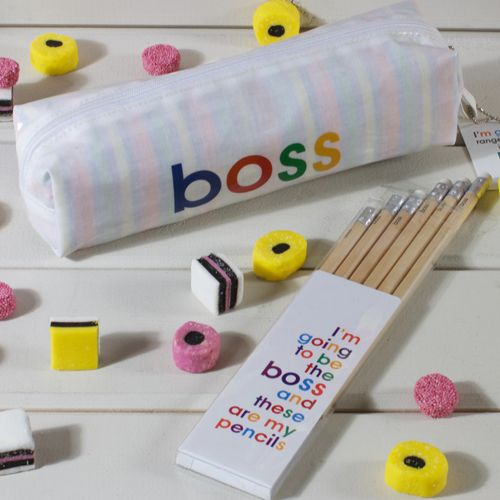 I'm going to be the Boss - Pencil Set