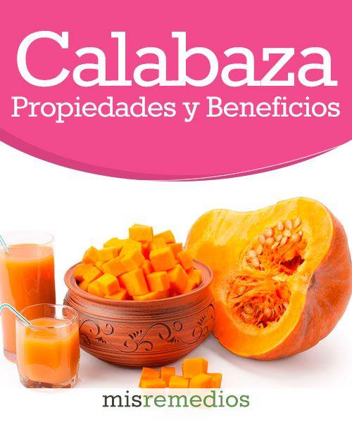 #Calabaza- Propiedades y Beneficios #PlantasMedicinales