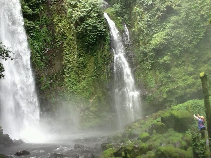 Waterfall, Manado, Indonesia