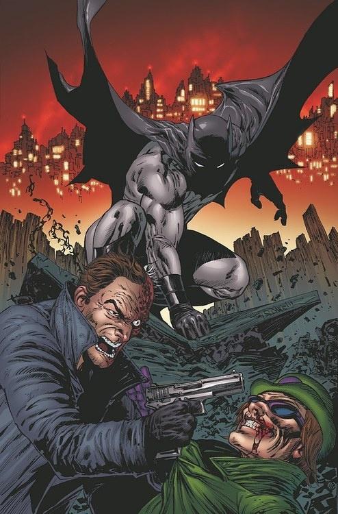 Batman, Riddler & Two-Face