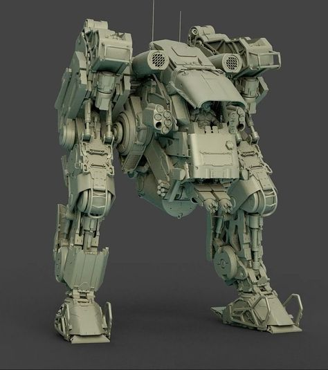 Mech Tutorial, commissioned work for issue 194 of 3D World Magazine. Created with Cinema 4D, rendered in Octane for C4D.
