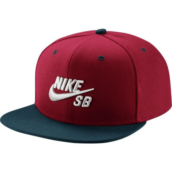 Nike Icon Snapback Hat ($19) ? liked on Polyvore featuring accessories, hats ,