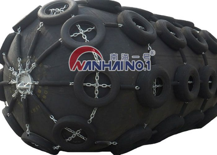 3.3x6.5m floating pneumatic rubber fender for ship to ship