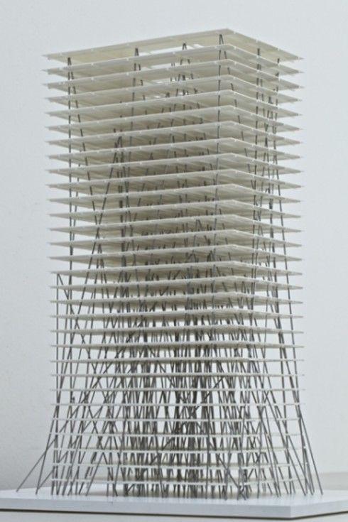 OFFICE BUILDING • Zhengzhou, China • 2012 • by Christian Kerez http://www.kerez.ch
