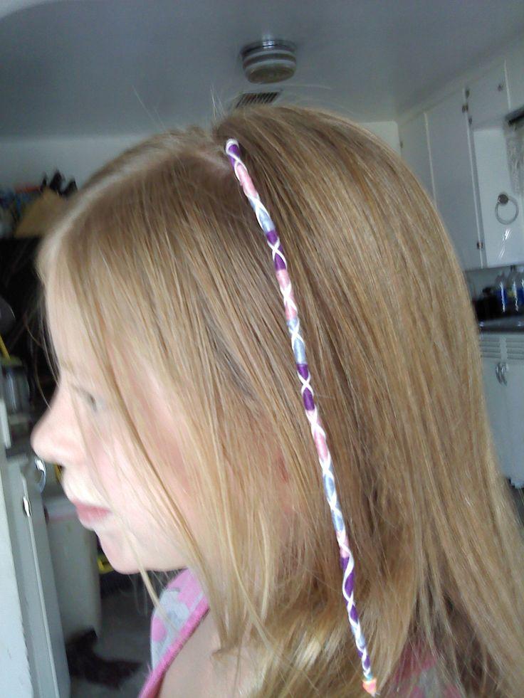 String Hair Wrap My Crafts In 2019 String Hair Wraps