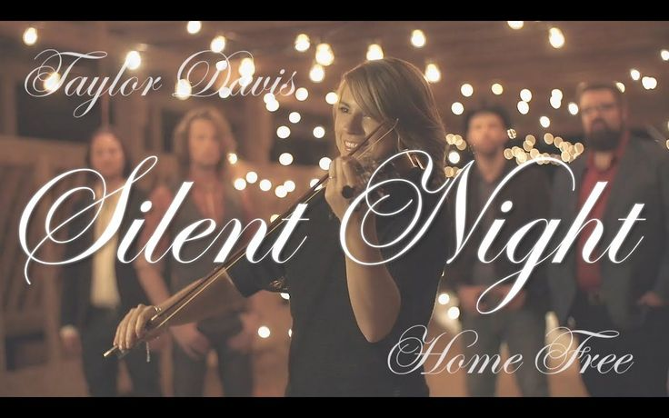 Home Free Vocal Band and a little Silent Night. My favorite holiday song.