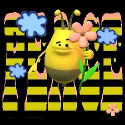 bee peaceful garden