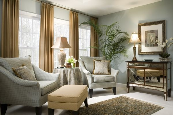 small home office with sitting area decorating ideas   Photo Credit: bedroomscentral.com