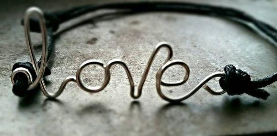 Love Wish Bracelet by ShinyStarCreations on Etsy
