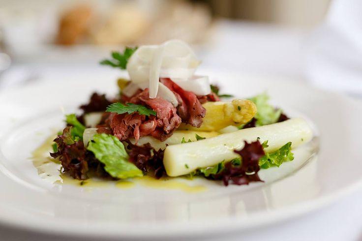 fresh asparagus menu