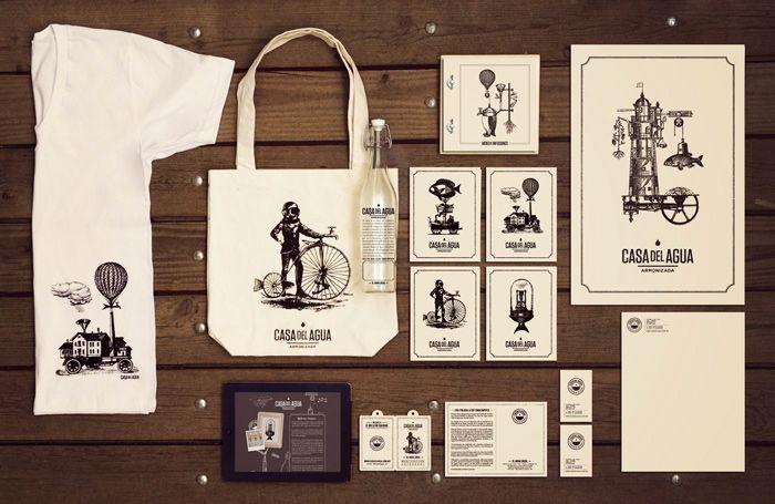 Casa Del Agua collateral | Designer: Cadena + Asociados Branding