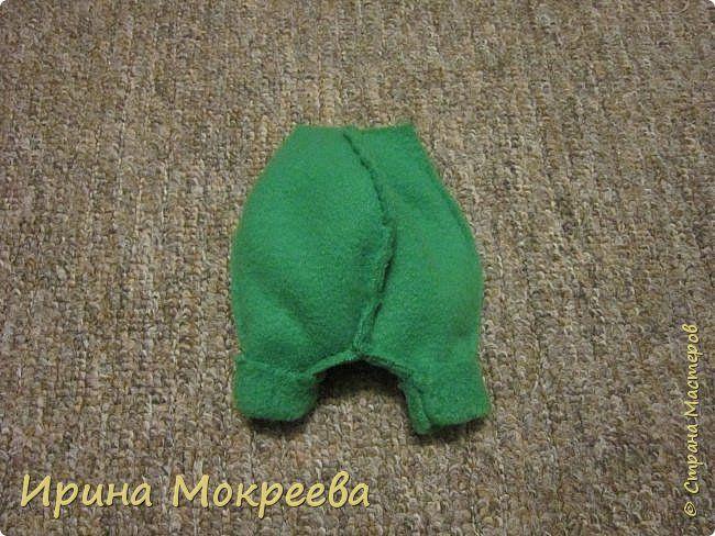 Наконец то выкладываю обещенный МК по гномам . Рост готовой куклы 34 см. фото 21