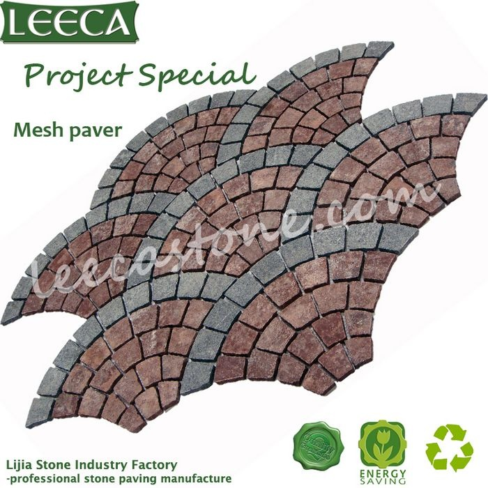 Paver Patterns For Walkways | Porphyry_patterns_paver_patio_walkway, granite, basalt paving| Leeca ...