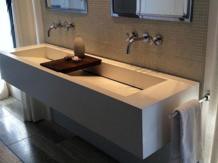 Absolutely Design Bathroom Sink With Two Faucets Sinks Faucet Holes And One Drain Single Large Long