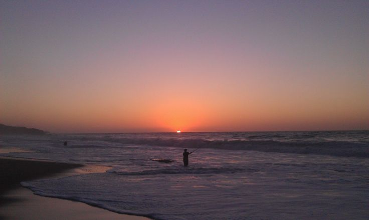Fishing at Boomers Beach. Just perfect. Photo by Alex Puopolo.