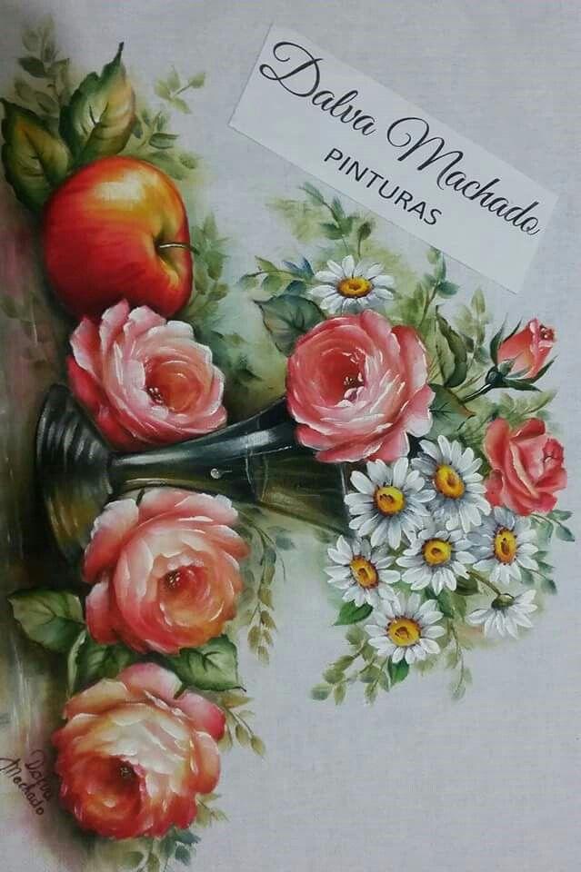 Conhecido As 430 melhores imagens em pintura tecido no Pinterest | Pintura  AC39