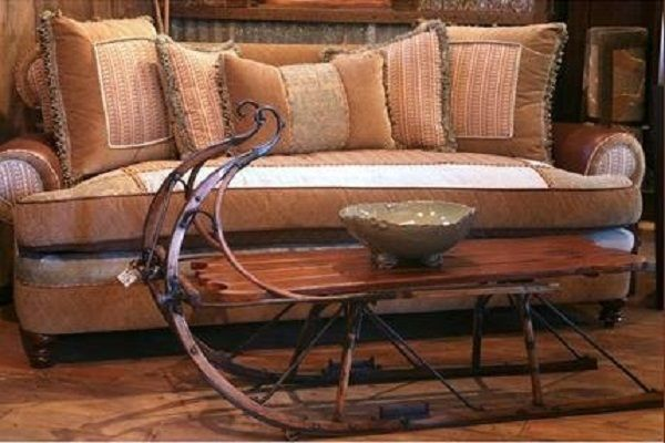 70 best images about sleighs on pinterest reclaimed furniture country christmas and primitive Antique sleigh coffee table