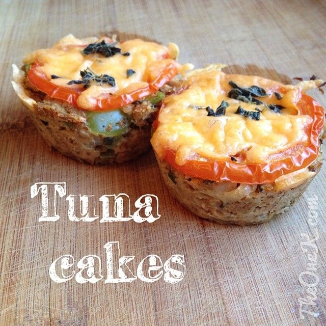 Healthy Tuna Cake Recipe on TheOneK.com|Foodporn|EatClean|Paleo|Lchf