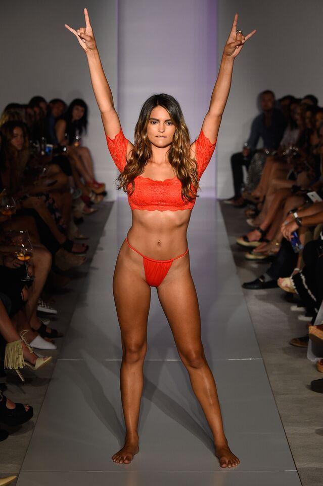 HAH | Hot-As-Hell Miami Swim Week Catwalk - Kyra Santoro ...