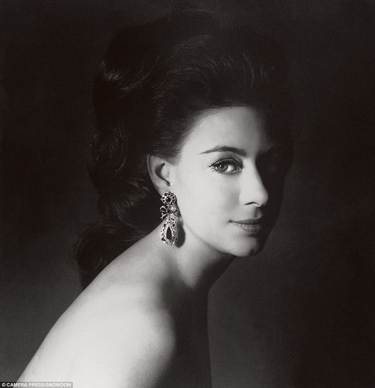Society photographer Lord Snowdon took this picture of his then wife Princess Margaret, the Queen's younger sister, in 1967