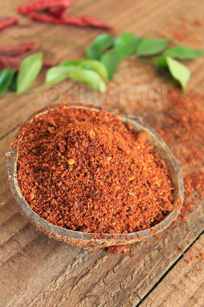 Andhra Style Karappodi Recipe | Idli Karam Podi Recipe | Rebuild Your'Self' - Sirisfood