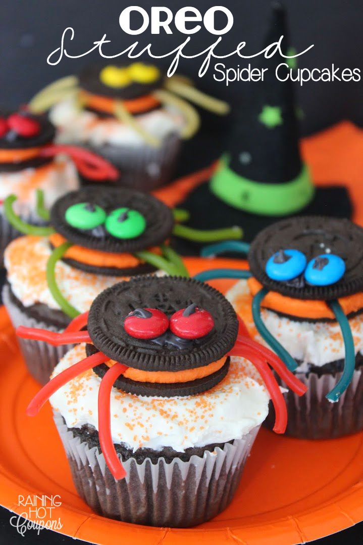 Best 25 Spider Cupcakes Ideas On Pinterest Halloween
