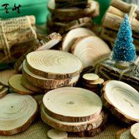 Montaña rusa de madera Natural DIY Decoración Del Hogar Fotografía decoración diseño trabajo hecho a mano almohadillas estera de la decoración de la boda niños regalo de cumpleaños