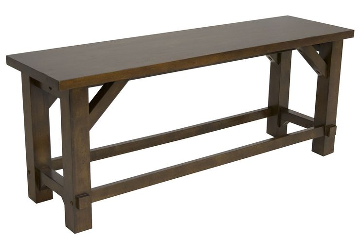 Farmhouse Counter-Height Bench | Mor Furniture for Less
