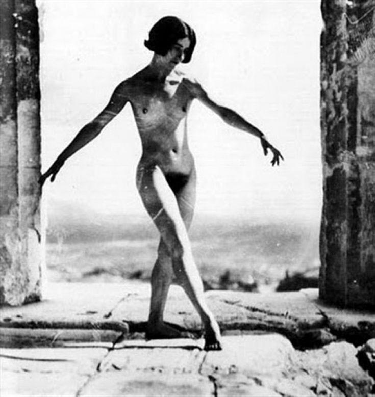Η Μόνα Πάεβα στον Παρθενώνα (1927)