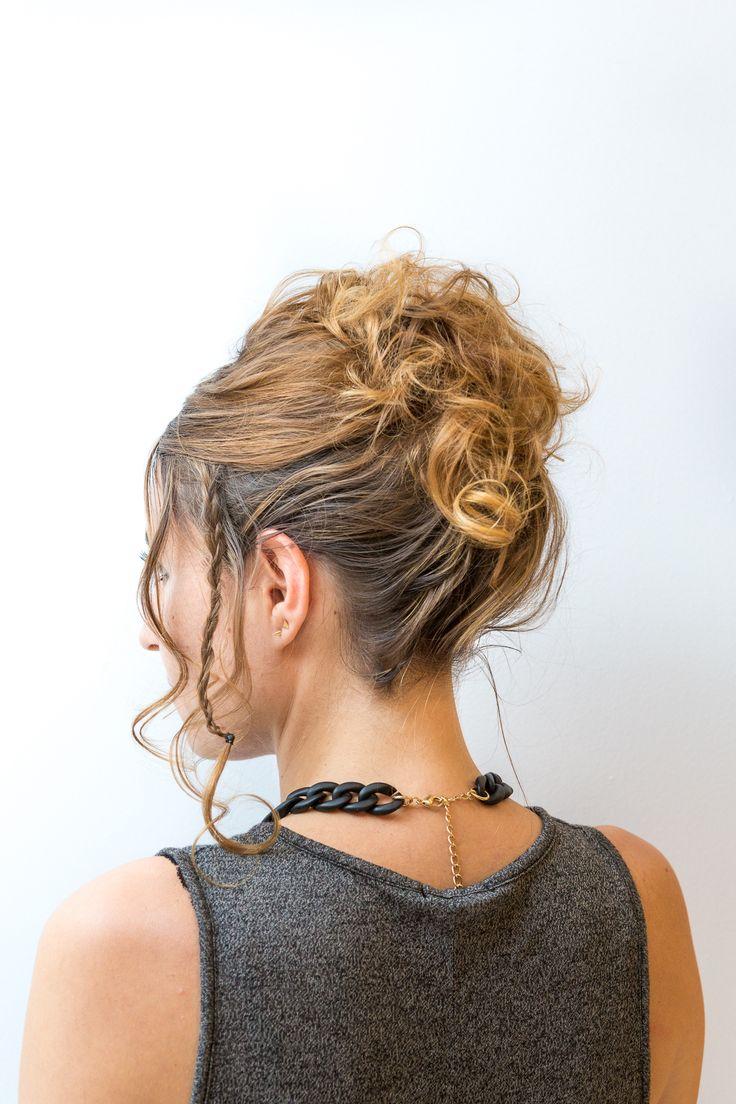 Inspiration chignon #coiffure #mariage #ElnettMariage