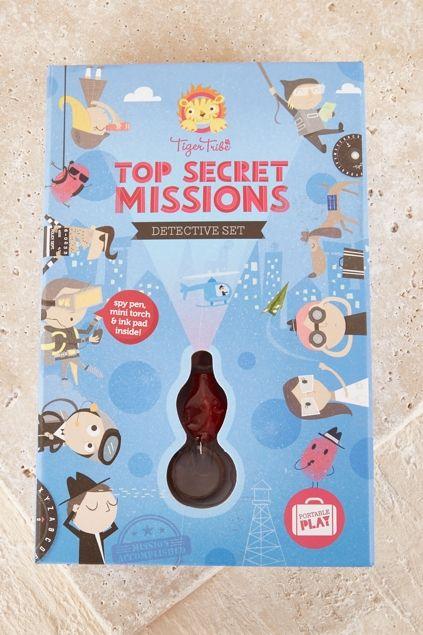 TIGER TRIBE - Top Secret Missions Detective Set