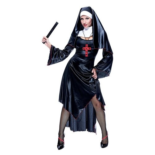 naughty nun costume halloween costume - Naughty Girl Halloween Costumes