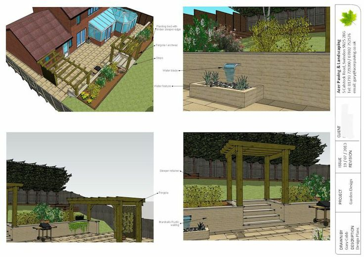 27 best images about Sketchup on Pinterest Gardens