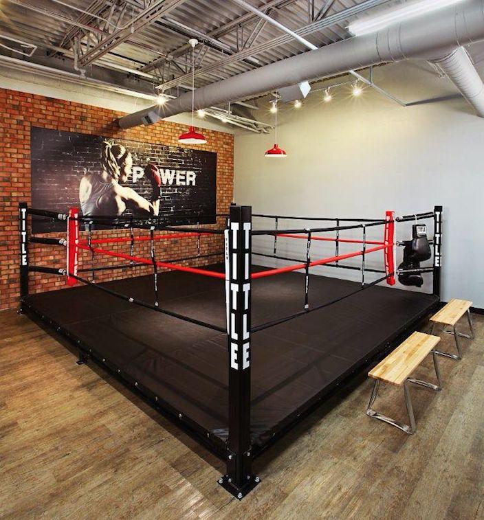 Title boxing club gym design pinterest