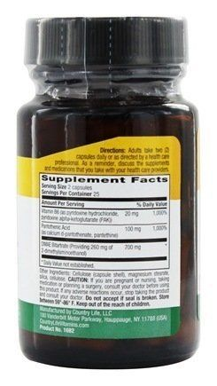 """DMAE is a compound found in brain tissue. Along with synergists Pantothenic Acid and Vitamin B-6, Country Life Coenzymated DMAE helps support normal, healthy neurotransmitter function.       Famous Words of Inspiration...""""Love is like war: easy to begin but very hard to... more details at http://supplements.occupationalhealthandsafetyprofessionals.com/supplements-2/antioxidants/dmae/product-review-for-country-life-vitamins-dmae-350-mg-50-vcap/"""