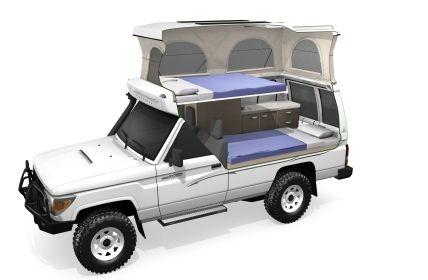4wd Toyota Landcruiser Camper Arguably The Best 4wd Camper
