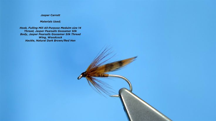 Tying the Jasper Carrott Soft Hackle/Wet Fly by Davie McPhail