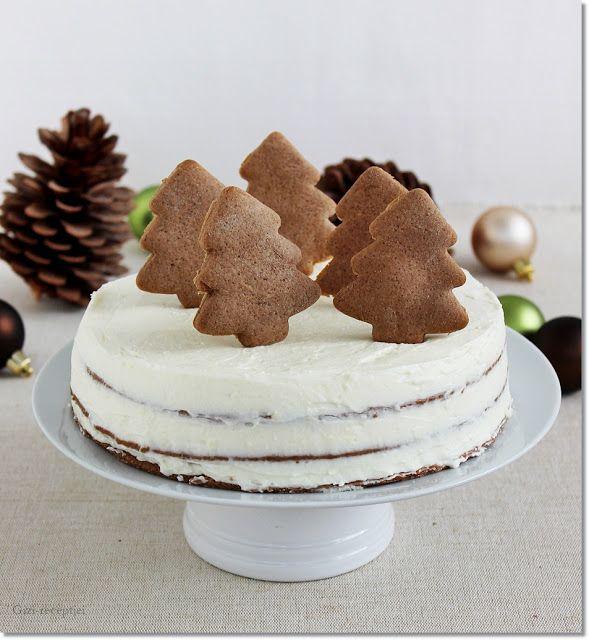 Gizi-receptjei.  Várok mindenkit.: Mézeskalács torta.