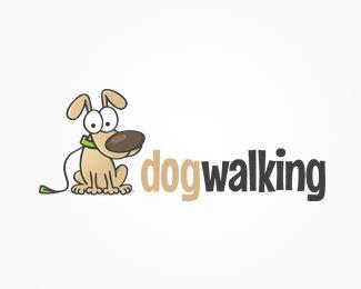 Dog Walking Logo Logo design dog walking