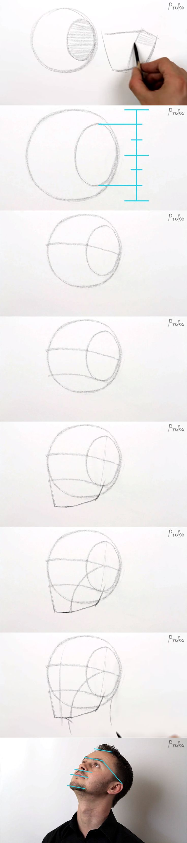 Proko – How to Draw the Head