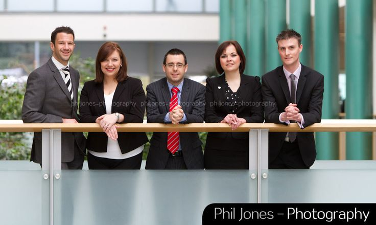 Corporate group shot photography by Phil Jones