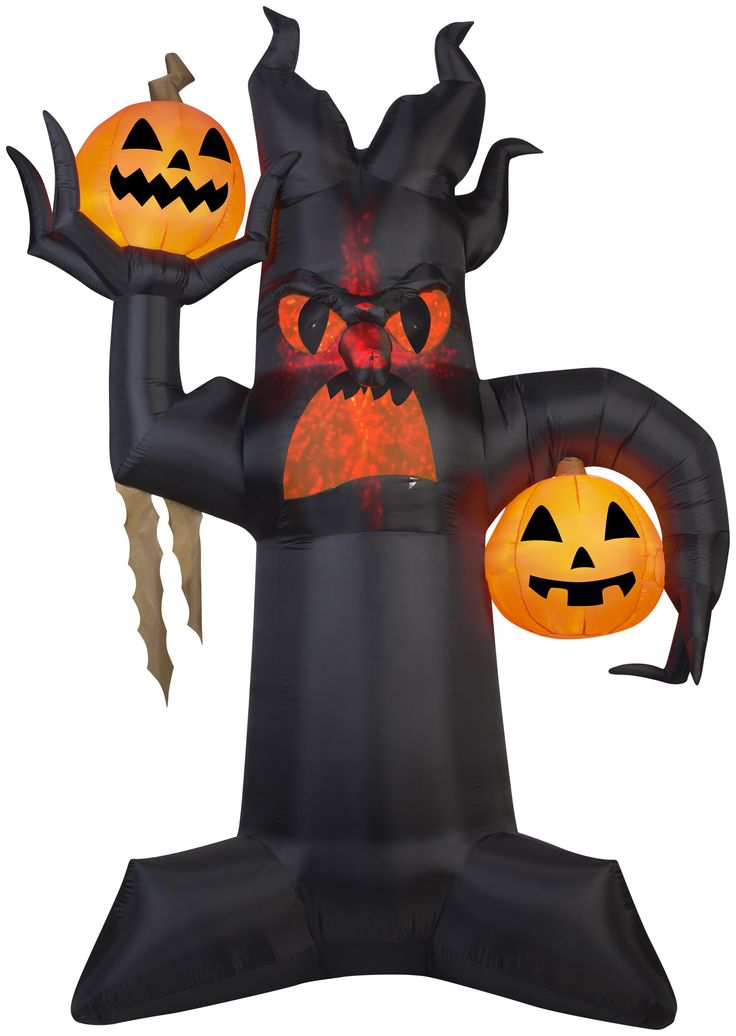 10 1/2 Foot Tall Kaleidoscope Giant Spooky Tree Halloween Inflatable!