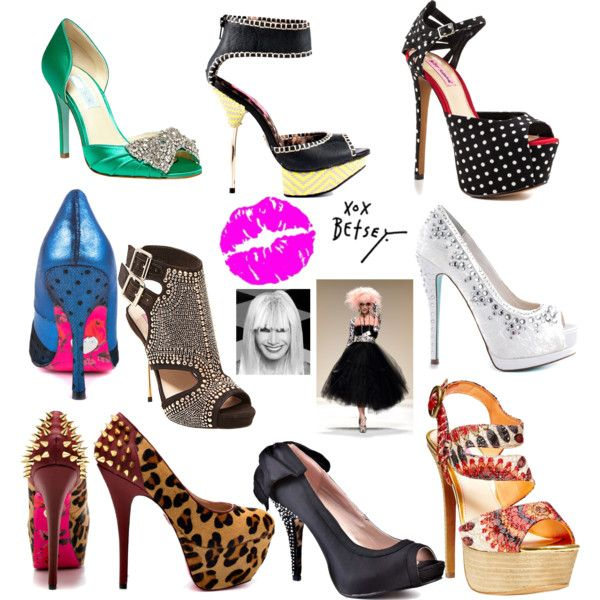 """""""Life is too short, have fun with your SHOES! A Betsey Johnson Collection"""" by caryvanessa on Polyvore"""