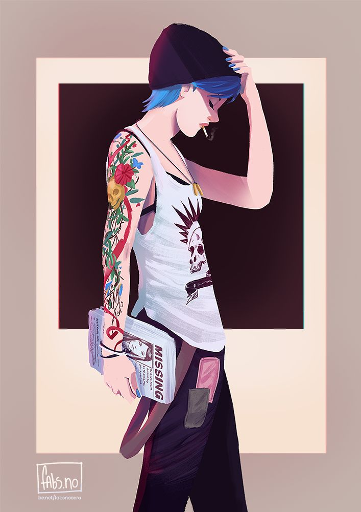 Life is Strange: Chloe Price on Behance