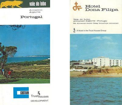 Donna Filipa Hotel, Val do Lobo advertising 1969 from Turismo do Algarve: Vale do Lobo