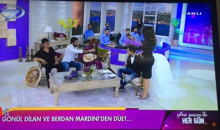 Berdan Mardini - Ebru Yaşar'la Hergün Programından Kareler