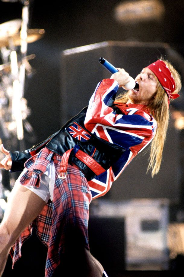 Axl Rose, Freddie Mercury Tribute Concert, Wembley Stadium, London, Uk, April…